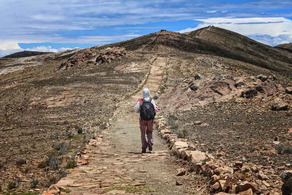 Hiking Isla del Sol   © Pedro Travassos/Flickr