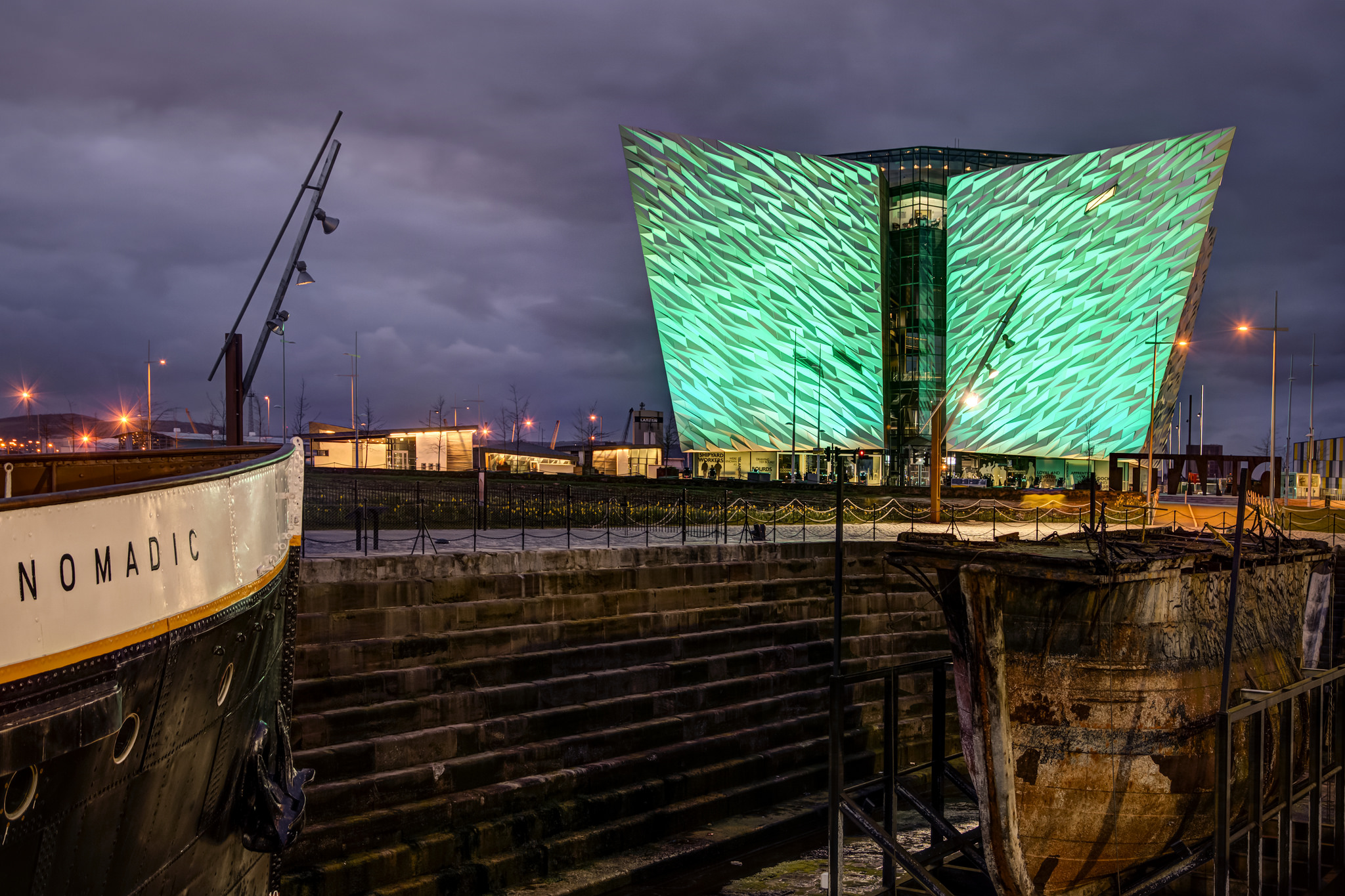 St. Patrick's Day at Belfast Docks | © Titanic Belfast/ Flickr