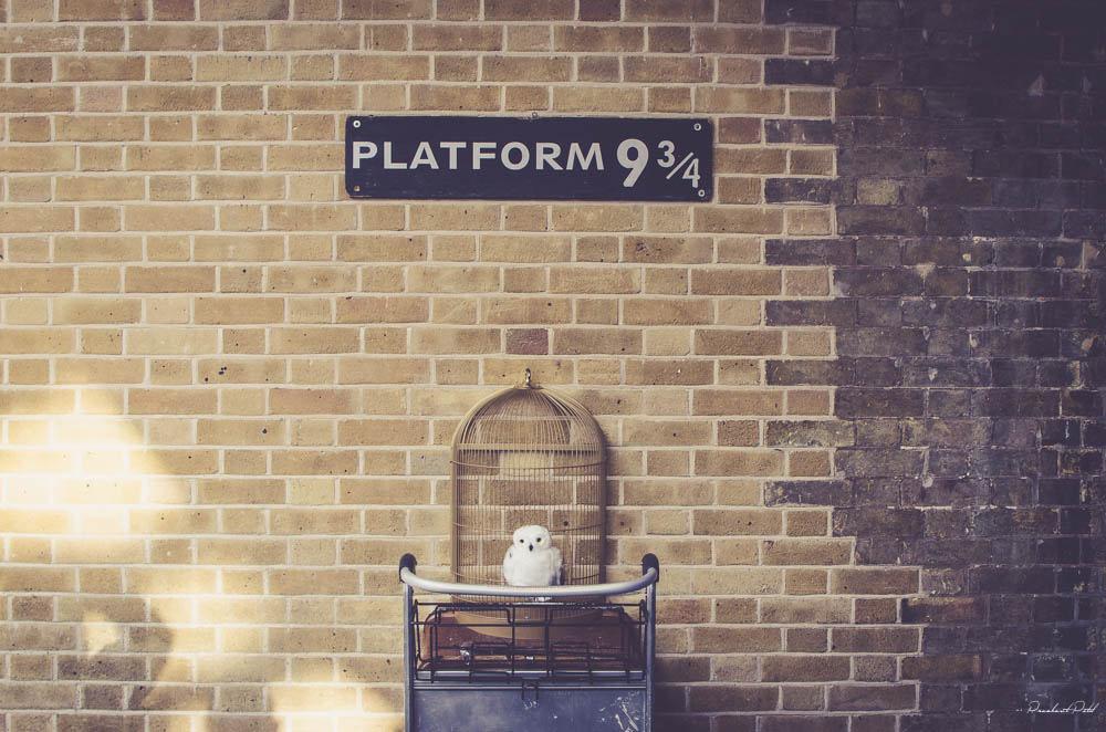 Kings Cross platform from Harry Potter