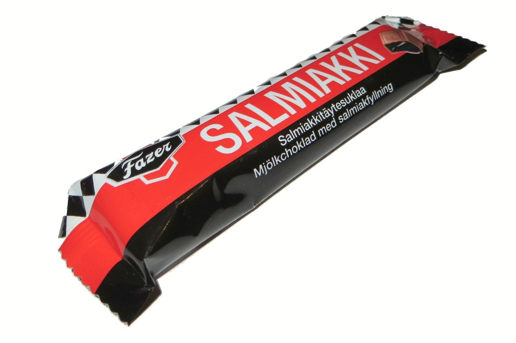A bar of chocolate with salted liquorice/ Pete/ Flickr