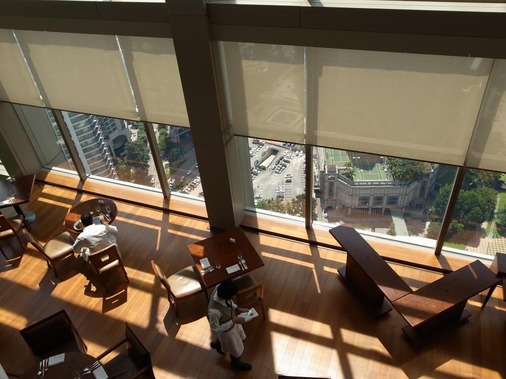 Restaurant THIRTY8, on the 38th floor of Grand Hyatt | (c)Shunsuke Kobayashi / Flickr