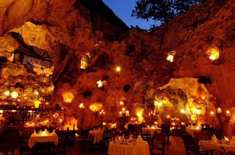 Ali Barbour's Cave Restaurants | Photo Courtesy of Ali Barbour's