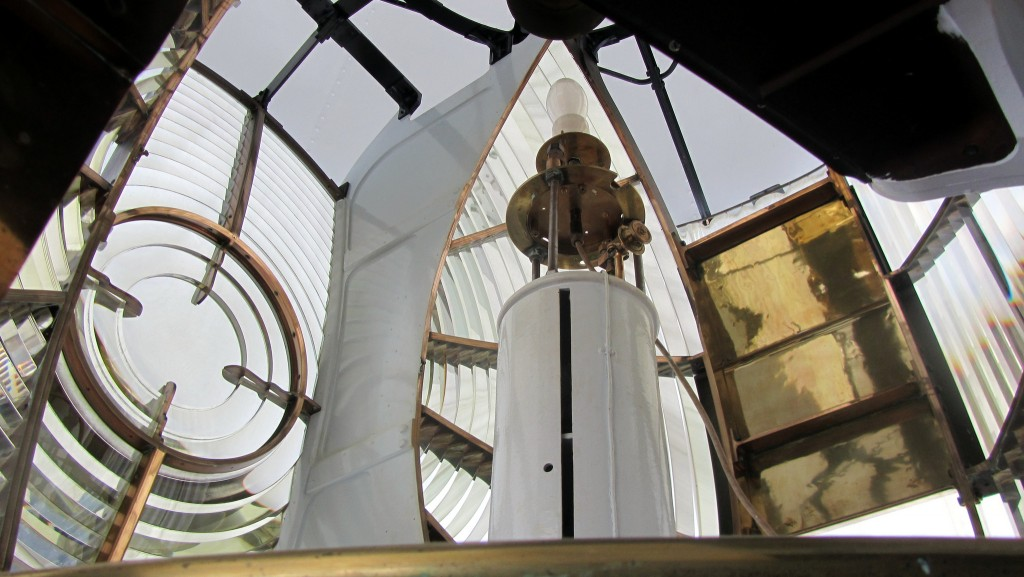 Inside a Lighthouse, Kinnaird Head | © David Jones/Flickr
