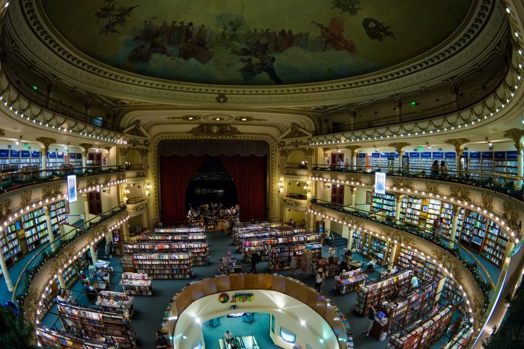 El Ateneo Book Store | © Nan Palmero/Flickr
