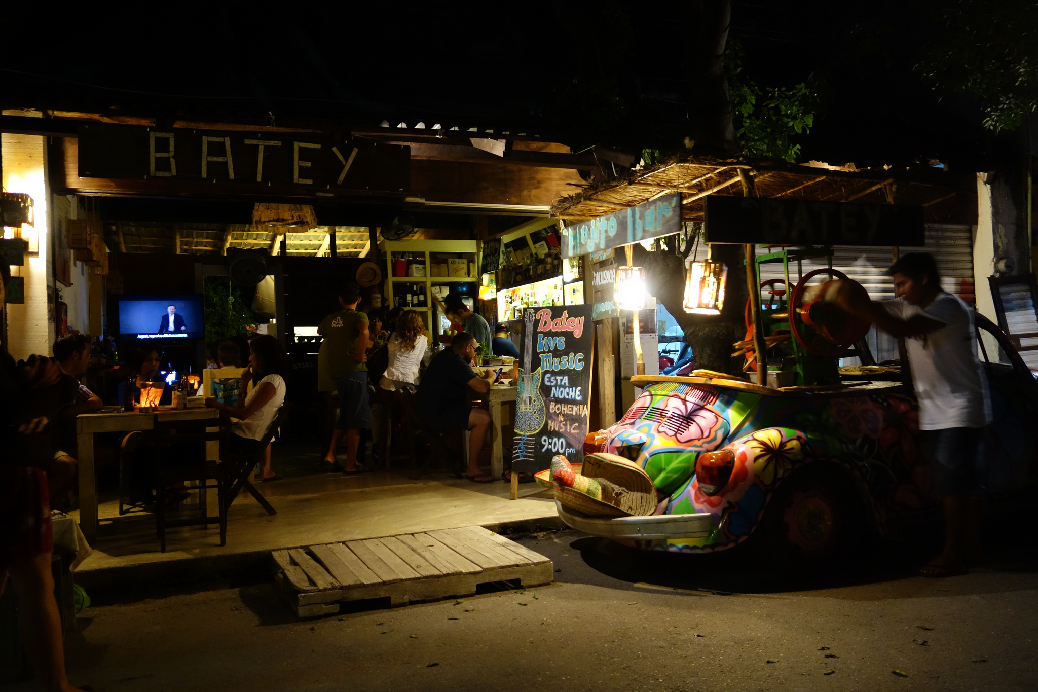 Batey, one of Tulum's top bars | © Paul Simpson/Flickr