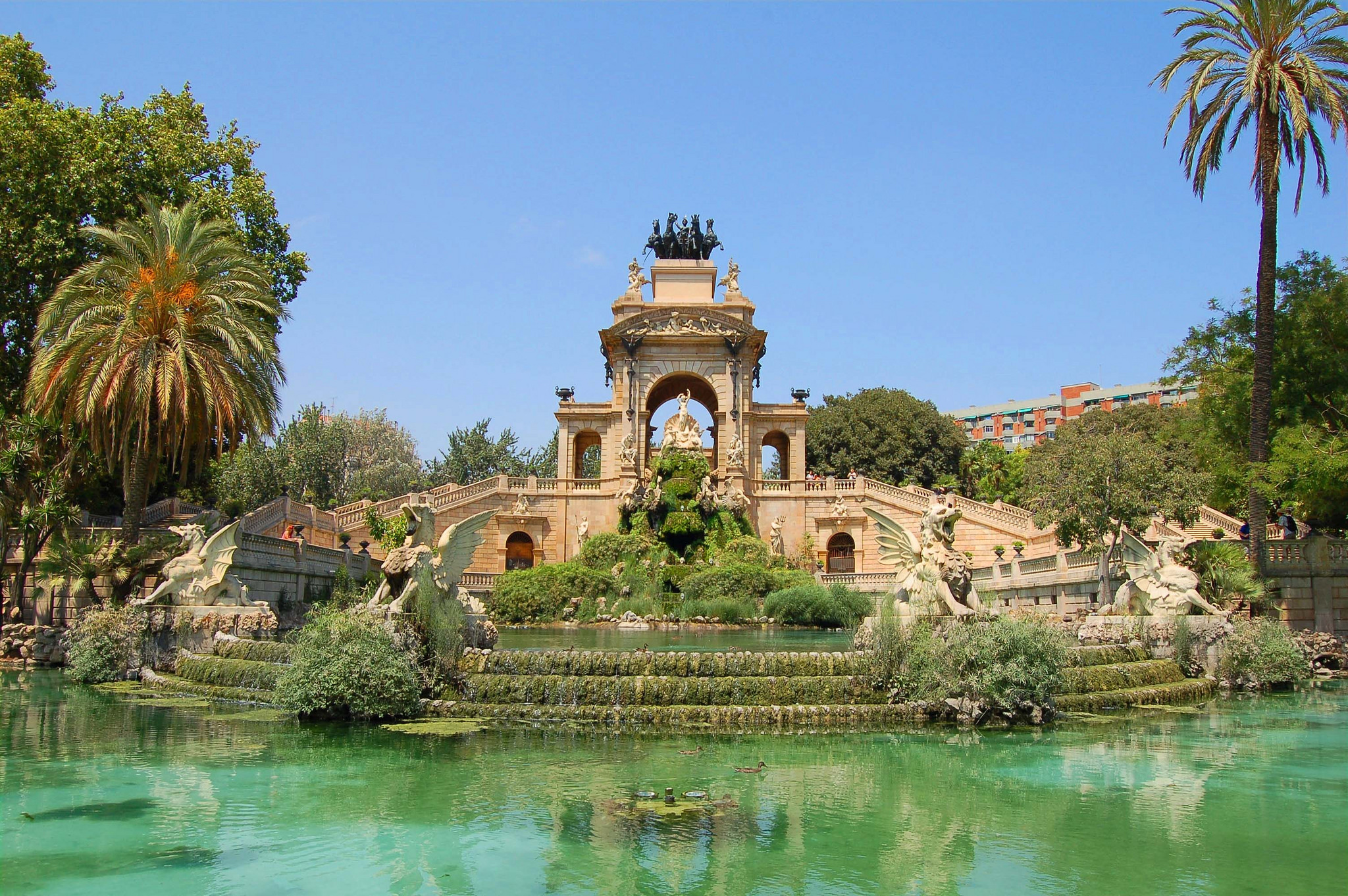 The Parc de la Ciutadella © Mark_M