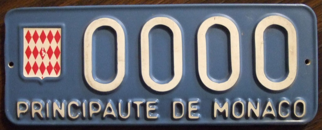 "Monaco Car Number Plate | © Jerry ""Woody"" / Flickr"