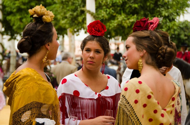 Seville´s feria is a celebration of family and friendship; Sandra Vallaure, flickr
