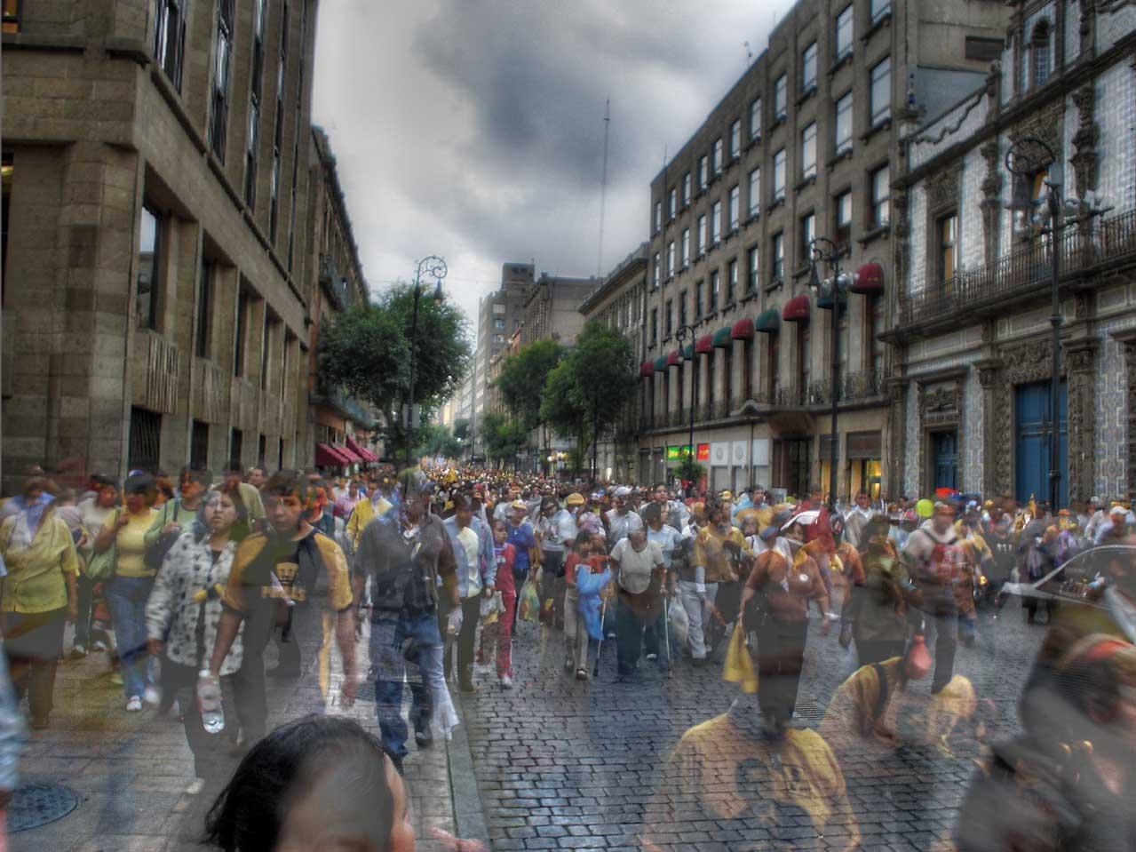 The rush in Mexico City never stops | © Eneas de Troya/Flickr
