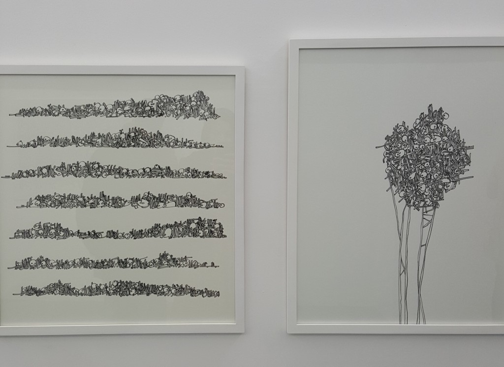 From the 2015 'Callidrawing' exhibition | © Pontia Fallahi
