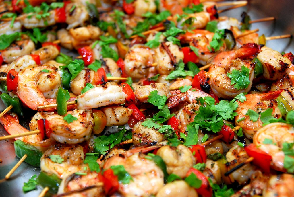 Seafood Skewers|© amrufm/FlickR