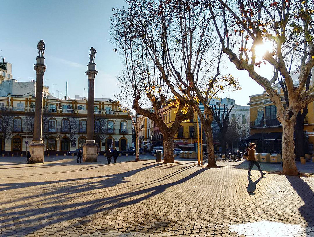 Seville´s Alameda is lined with fashionable bars and restaurants; Cinthia Bravo, flickr