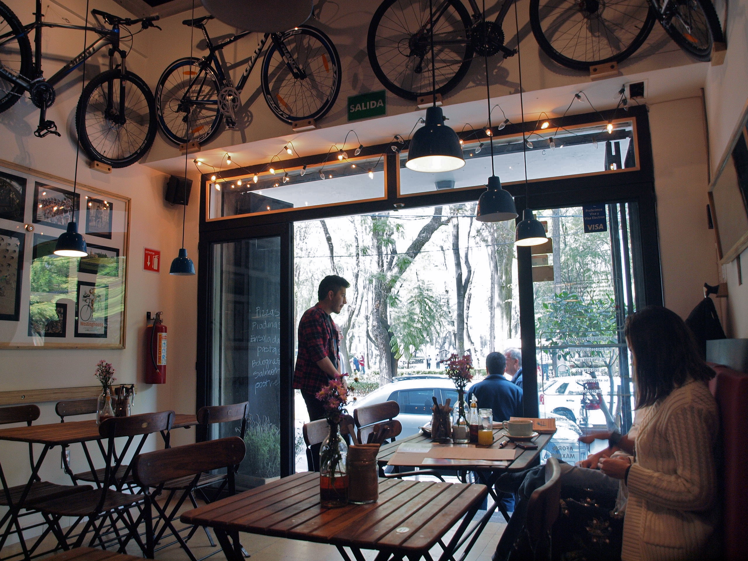 Café in Condesa | © Alejandro/Flickr