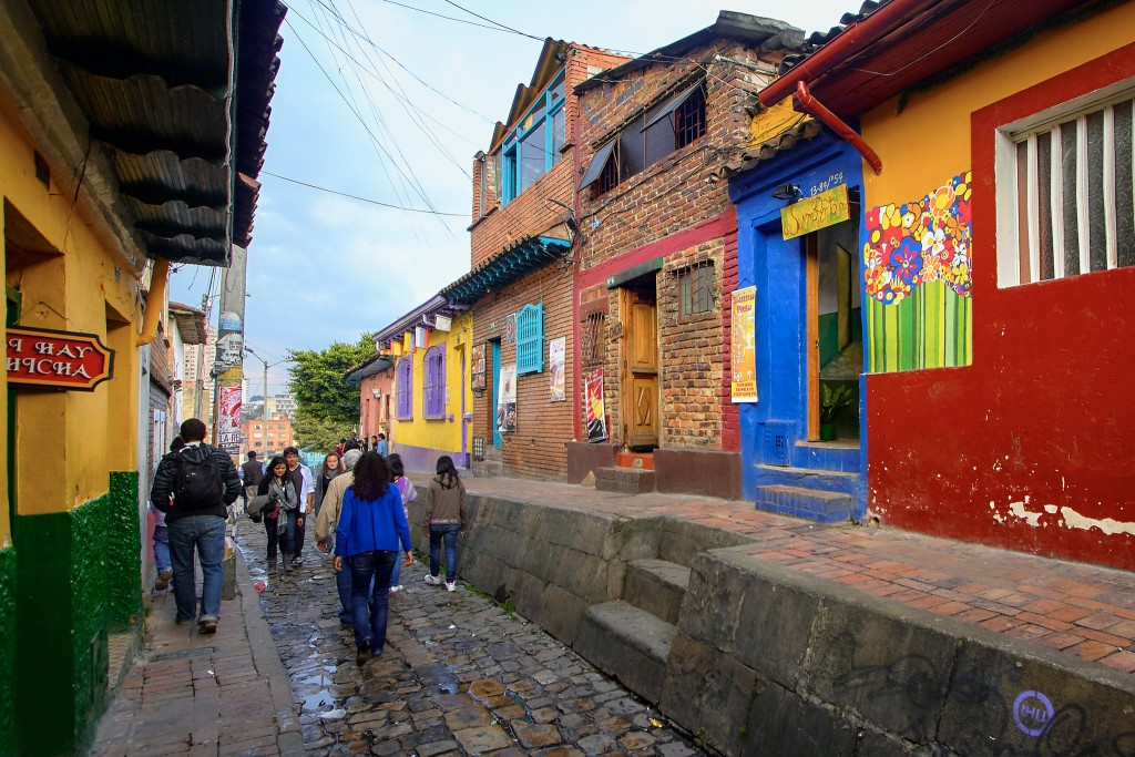 La Candelaria Neighbourhood in Bogota © Pedro Szekely / Flickr