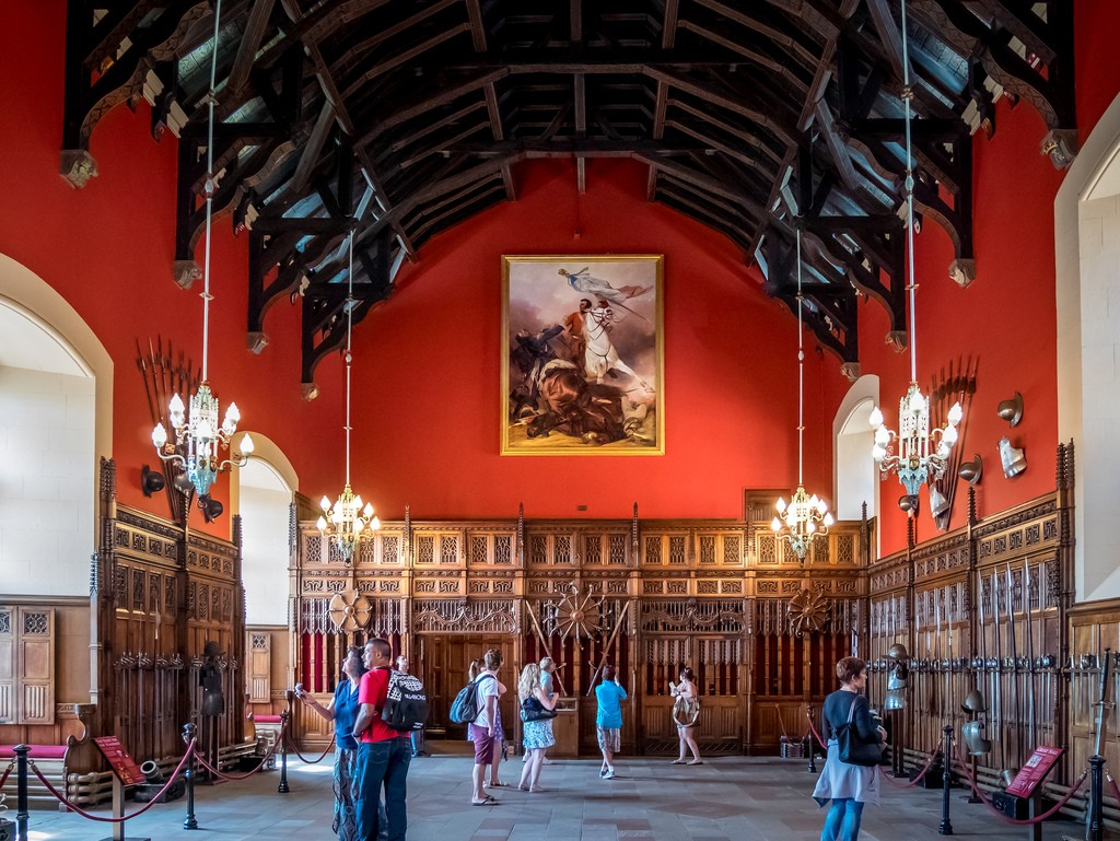 Edinburgh Castle Great Hall   © Matthew Hartley/Flickr