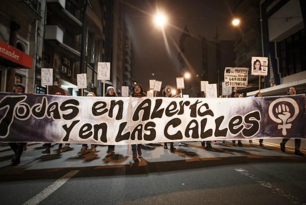 A women's protest in Montevideo, Uruguay © Montecruz Foto / Flickr