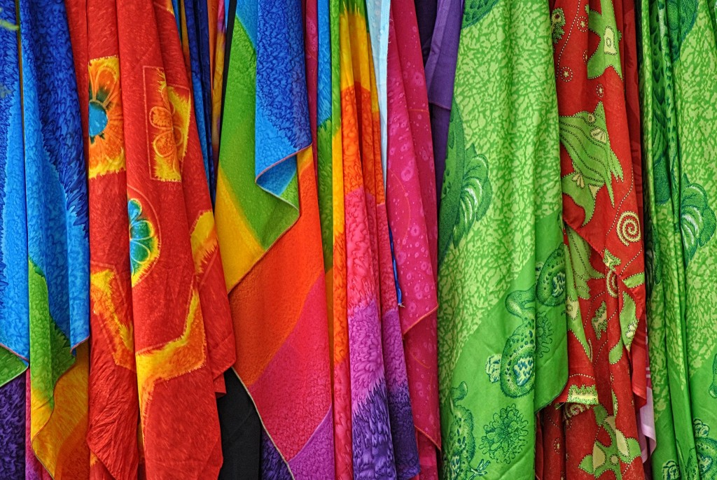 The traditional saree|© Steve Douglas/Flickr