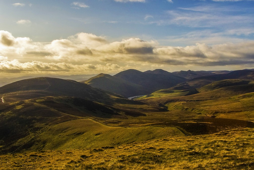 The Pentland Hills From Allermuir | © Bethany Ciullo / Flickr