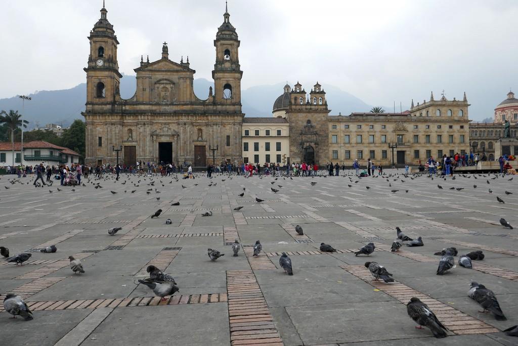 Plaza Bolivar, Bogota, Colombia © Leah Jones / Flickr