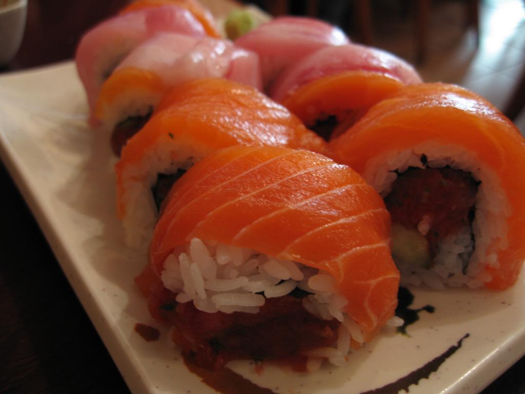 Sushi rolls |© Ernesto Andrade/Flickr