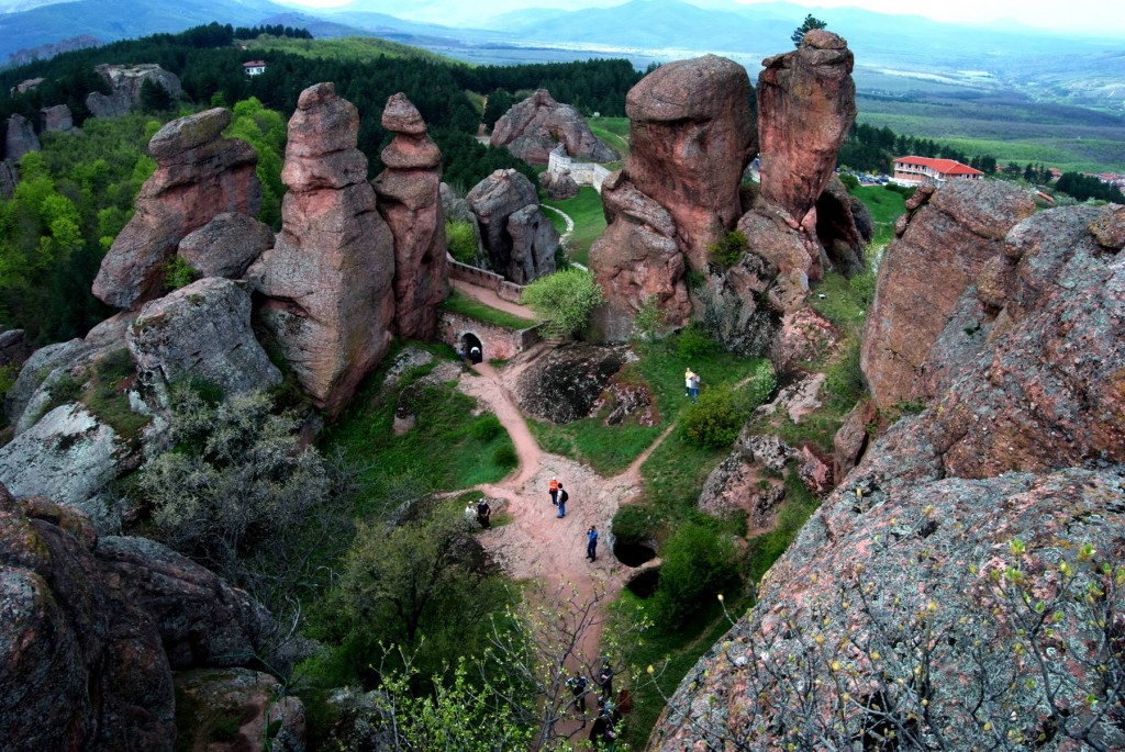 View from the top of the Belogradchik Fortress | © Alex Lovell-Troy/Flickr