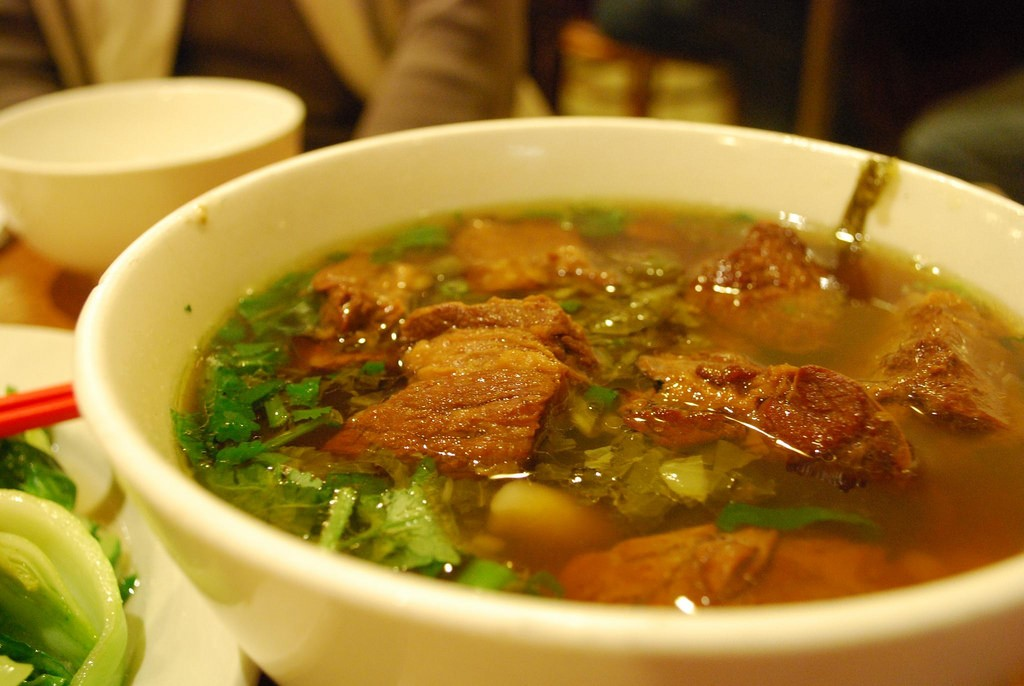 Taiwan beef noodles | © Alpha / Flickr