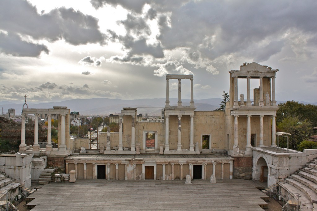 The Ancient Roman Theater in Plovdiv © Kyle Taylor/Flickr