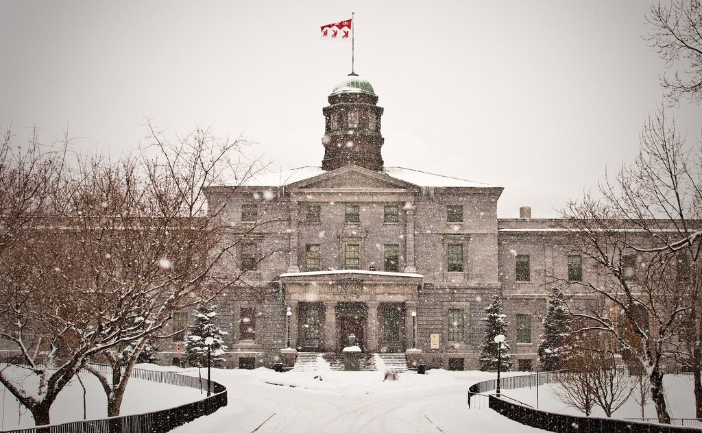 McGill University in Winter | © TMAB2003 / Flickr