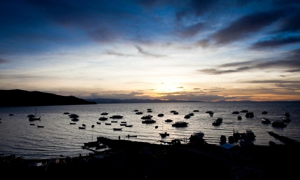 Copacabana sunset   © Cecilia Heinen/Flickr