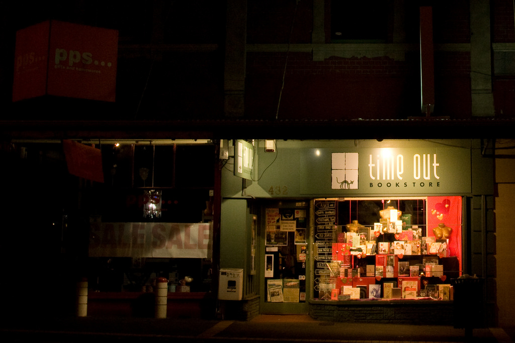 Time Out Bookstore, Mt Eden Village | © russellstreet/Flickr