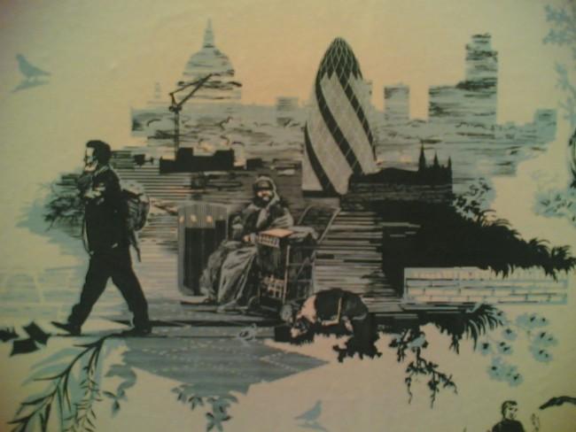 A London scene pattern