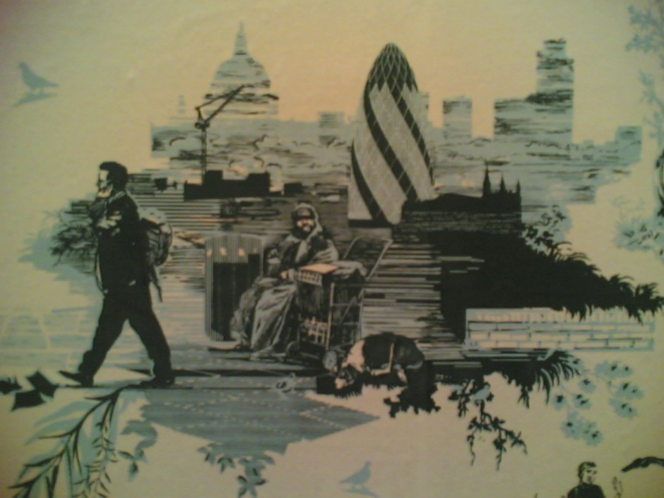 London patterns at Timorous Beasties