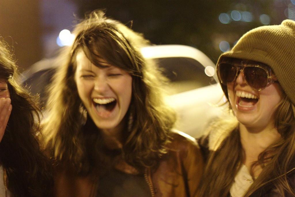 Friends Laughing | Marc Kjerland/Flickr
