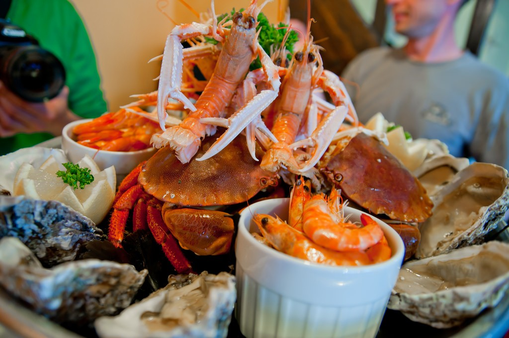 Seafood Platter|© Archangel12/FlickR