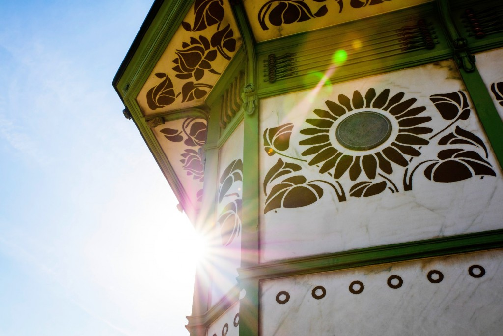 Otto Wagner's Stadtbahn Pavilion, detail© WienTourismus/Christian Stemper