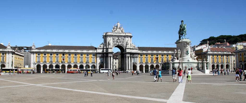 Praça do Commercio (where you will find Ministerium) © Conan / Flickr