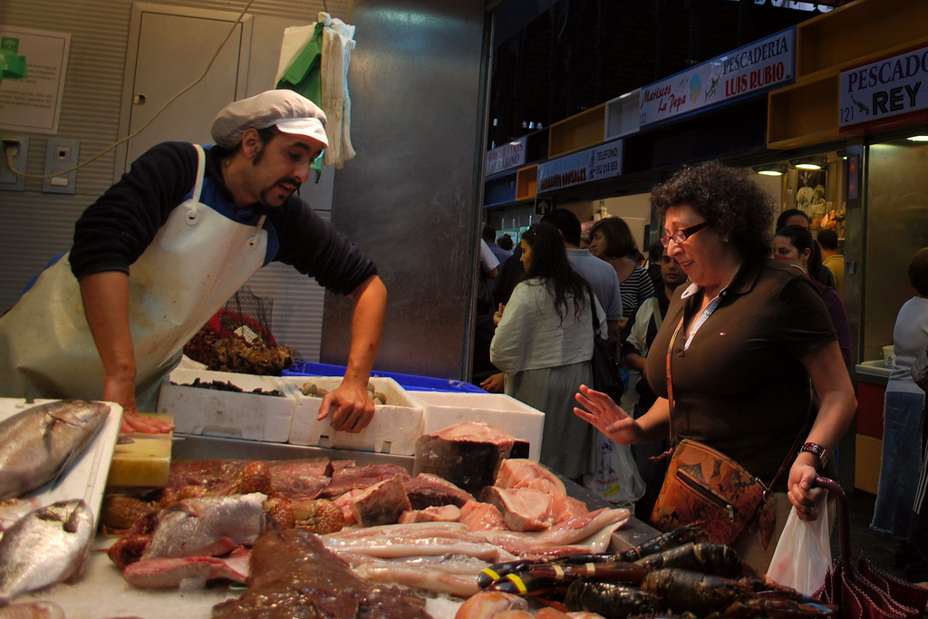 Malaga´s markets are known for the quality of their fish; Aapo Haapanen, flickr