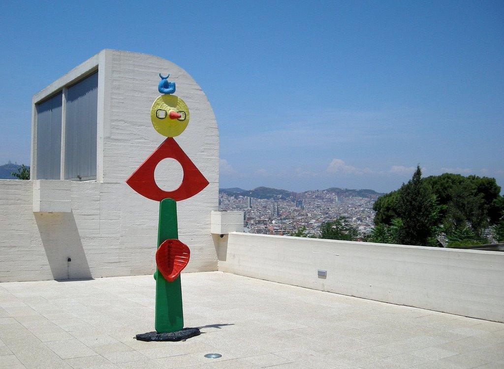 La Caresse d'un oiseau by Joan Miró © malouette