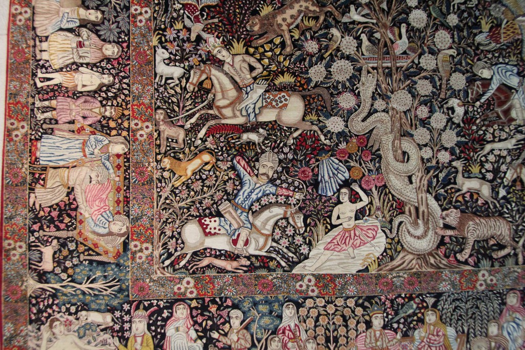 Detail of a rug in the Carpet Museum | © reibai / Flickr