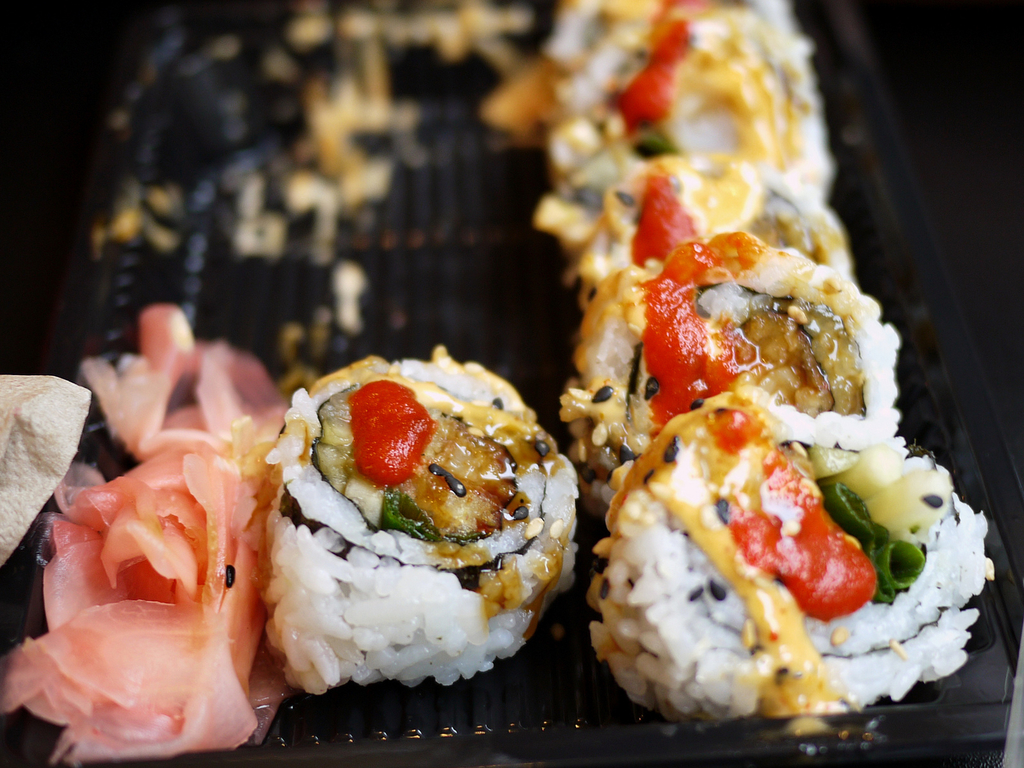 Innovative sushi |© 5chw4r7z/Flickr