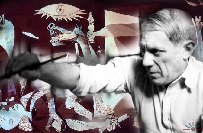 Guernica and Picasso | ©AK Rockefeller / Flickr