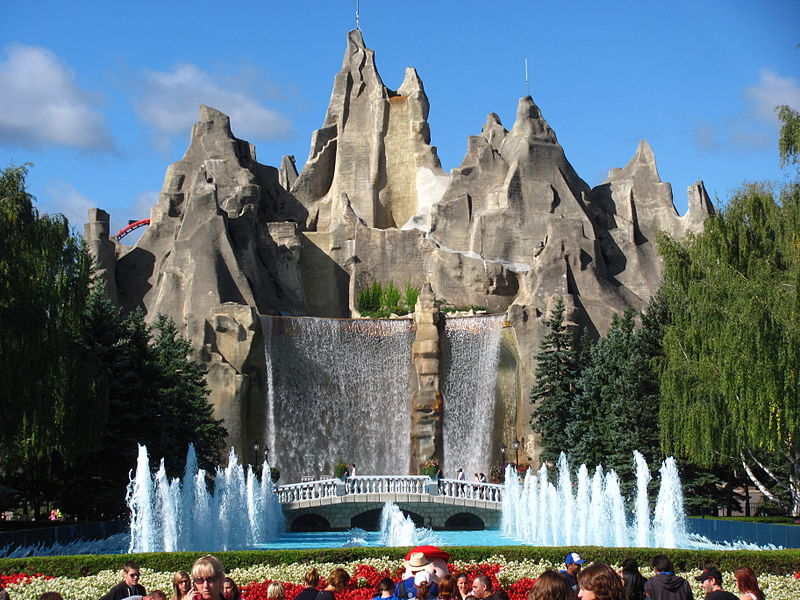 Wonder Mountain at Canada's Wonderland | © Jeremy Thompson/ WikiCommons
