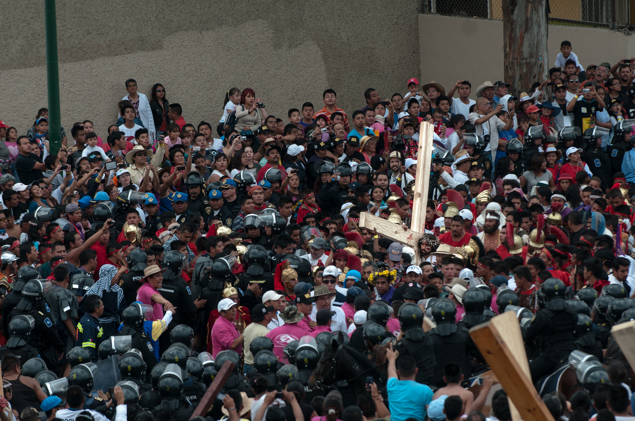 Easter celebrations in Iztapalapa, Mexico City | © Eneas de Troya/Flickr