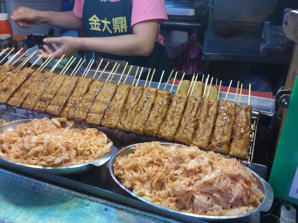 Skewered Stinky Tofu and Cabbage | © Kenming Wang / Flickr
