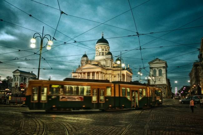 Viewing Helsinki's architecture by tram/ Alexander Kolosov/ Flickr