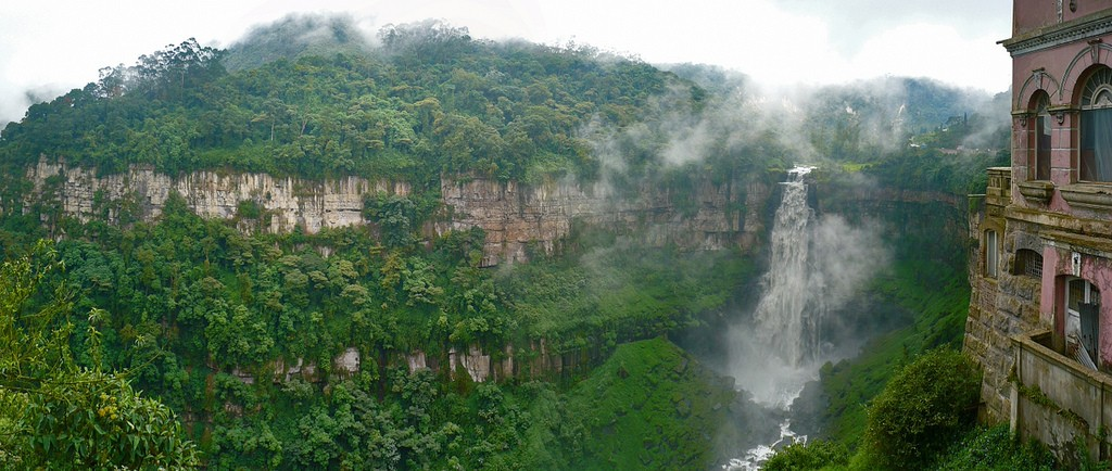 Tequendama Falls located just outside of Bogota © Andres H. Cabrera / Flickr