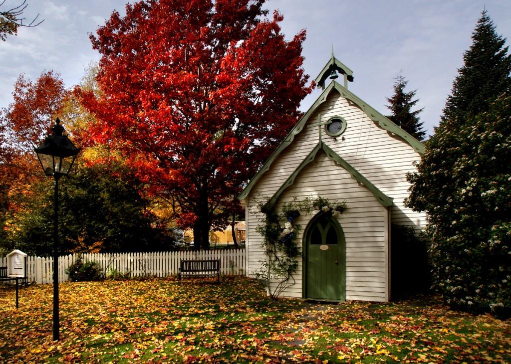 St Paul's Church, Arrowtown | © Bernard Spragg/Flickr