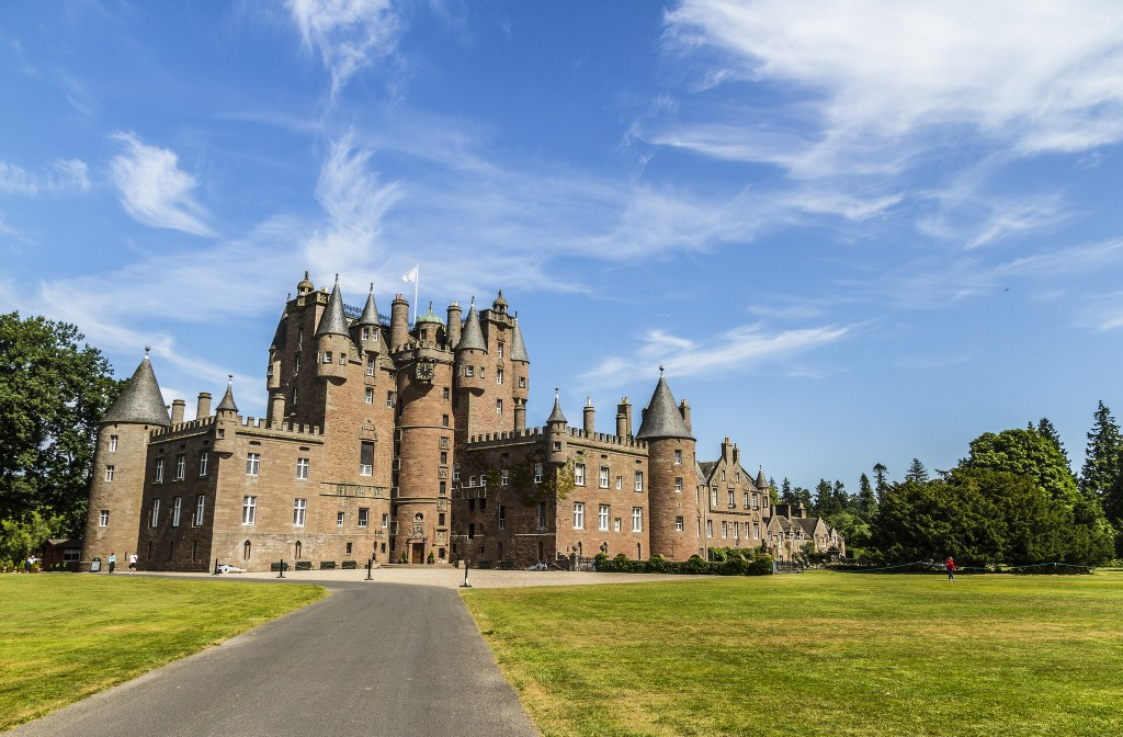 Glamis Castle | © Shemsu.hor/Flickr