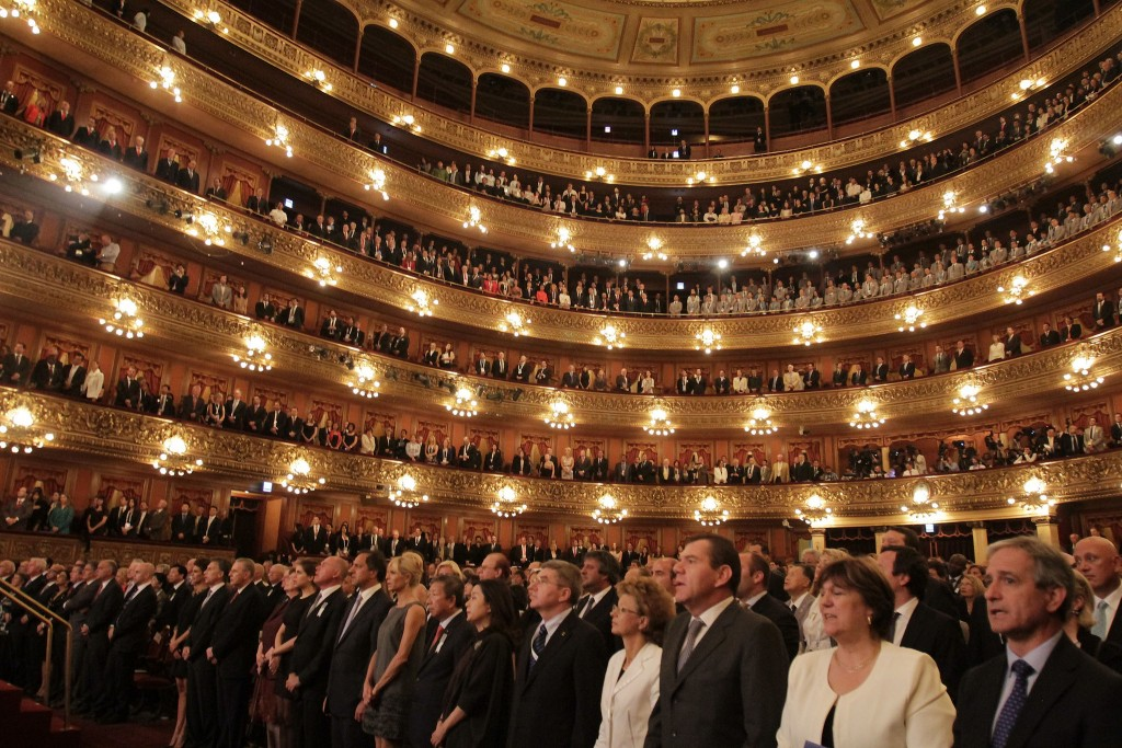 Performance at Teatro Colon | © Gobierno de la Ciudad de Buenos Aires Follow/Flickr