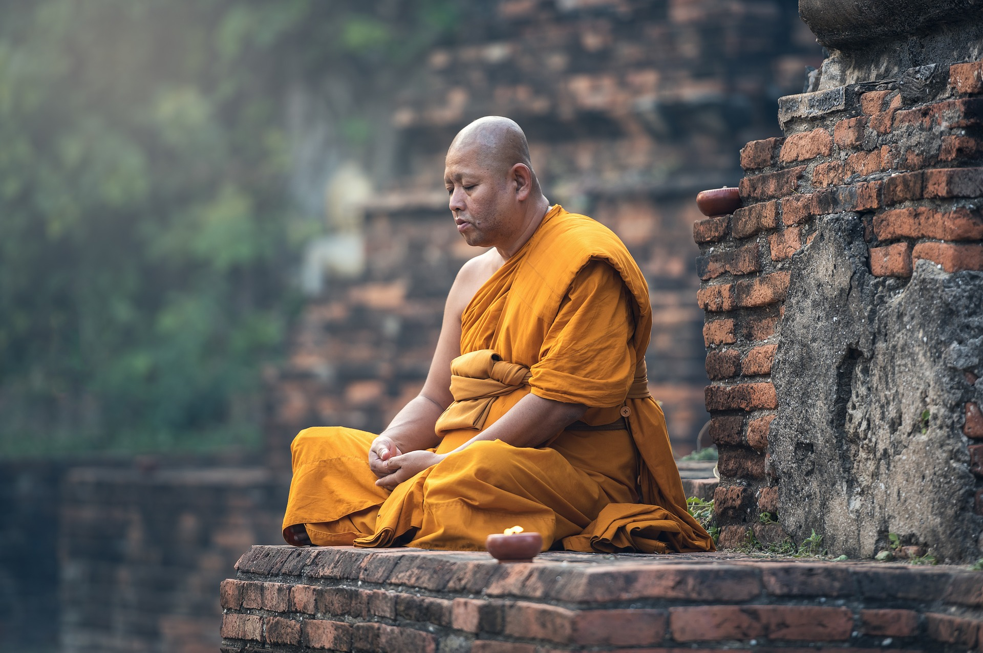 Buddhist monk smiled two months after death